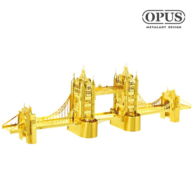 OPUS 3D立體金屬拼圖/DIY建築模型益智玩具(倫敦塔橋)