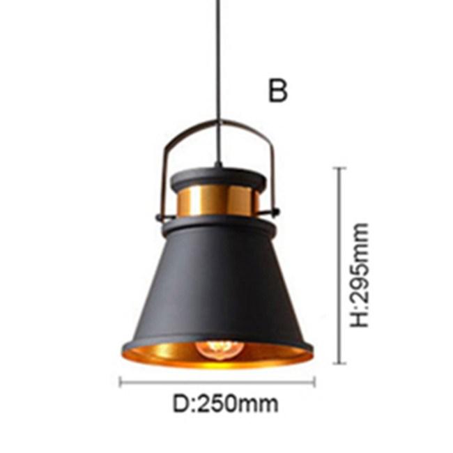HONEY COMB 工業風金屬單吊燈 三款TA8871 B款