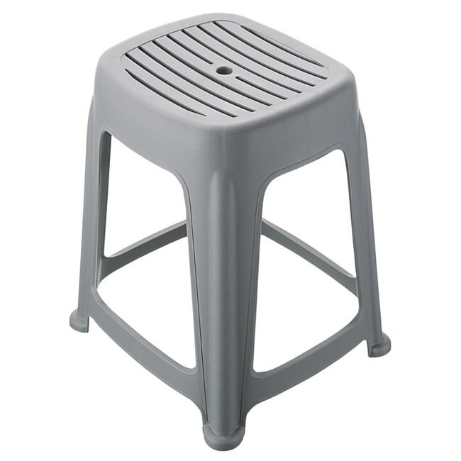 KEYWAY 花園止滑椅 高47CM 灰色款 RC6684