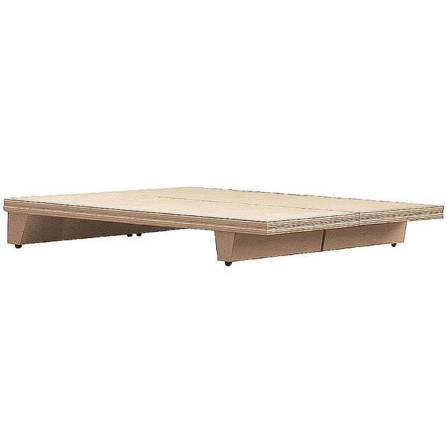 【YFS】大衛5尺洗白床底-152x188x24.5cm