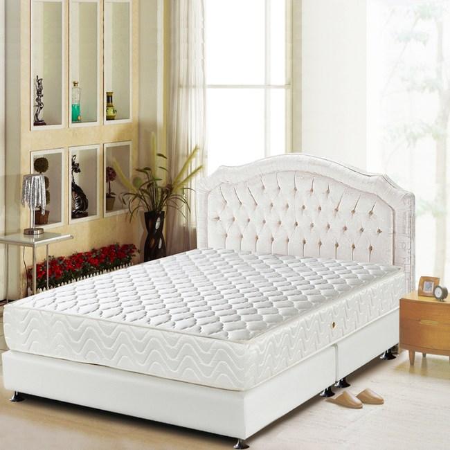 睡芝寶-頂級-3M防潑水+護邊強化+蜂巢式獨立筒床墊單人3.5尺