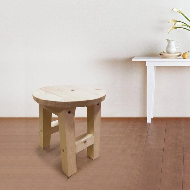 DIY材料包-椴木小圓凳