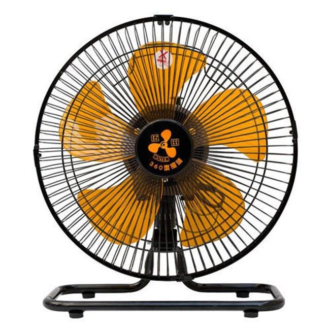 伍田12吋超廣角循環涼風桌扇 WT-1212S /高風速低噪音