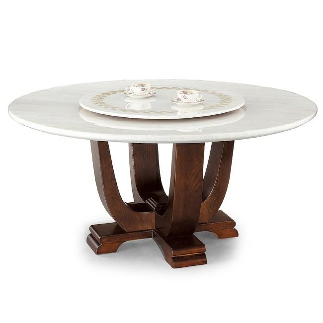 【YFS】特芬妮象牙白5尺圓餐桌-150x150x75cm
