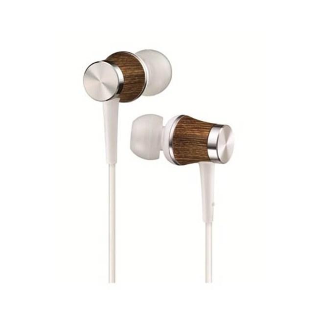 【送收納盒】JVC HA-FW7 白 WOOD DOME木製耳機系列 耳道式耳機