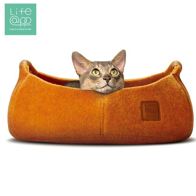 【Lifeapp】貓咪籃子-加州橘(適用貓咪及小型犬)加州橘