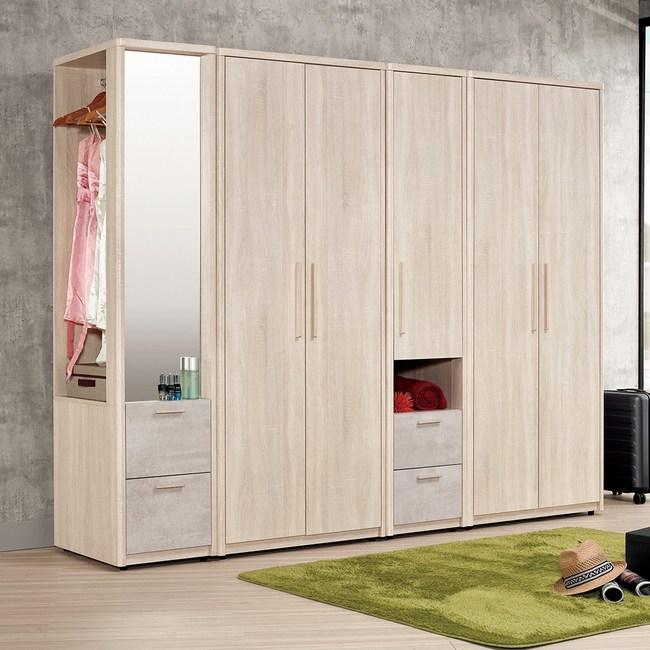 Homelike 漢奈8.7尺大衣櫃