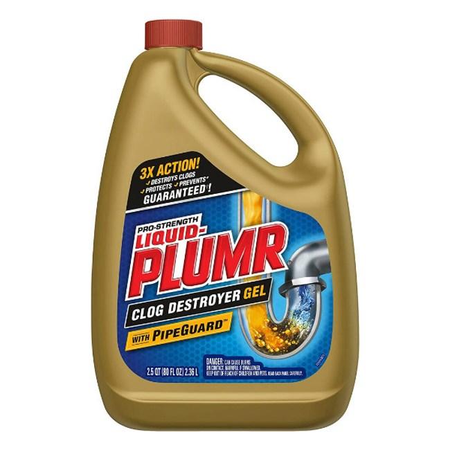 美國Liquid-Plumr水管疏通劑(32oz/946ml)*3