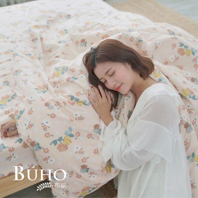BUHO 雙人加大三件式床包組(春美日好)