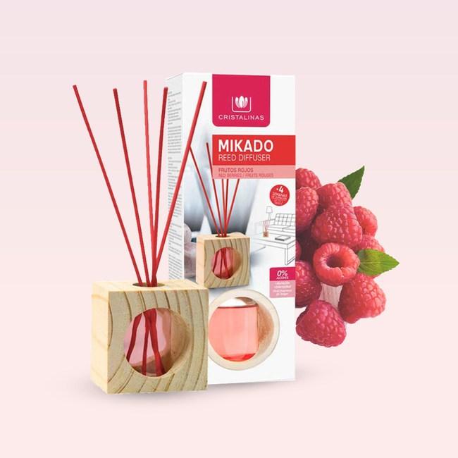 Cristalinas小方框植萃香氛 (30ML)-  紅莓果