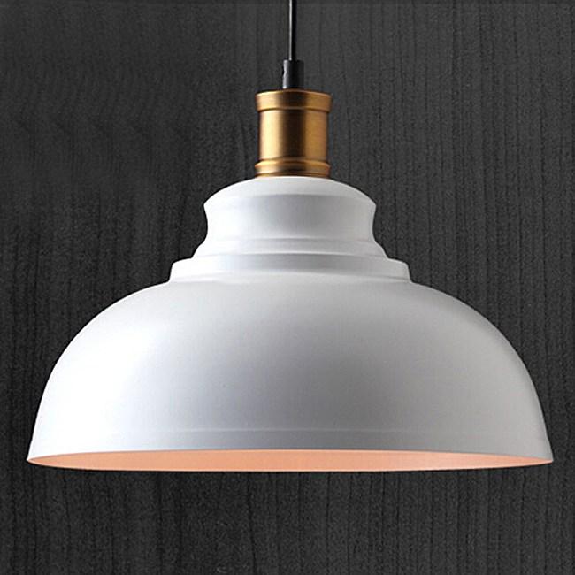 HONEY COMB 工業風經典款金屬單吊燈 雙色款 白色 TA8382