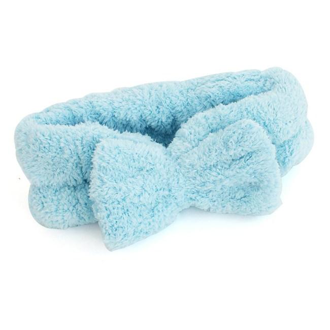 Lovel 7倍強效吸水抗菌超細纖維髮帶(粉末藍)