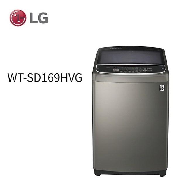 LG 樂金16公斤 DD直立式變頻洗衣機 WT-SD169HVG