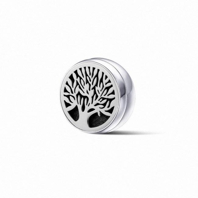【富士雅麗FUJI-GRACE】口罩磁性香氛扣(內附精油芯片x8)1入生命之樹