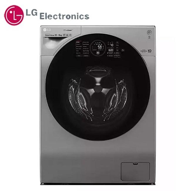限時好禮3選1 LG 12公斤 WiFi 極窄美型滾筒洗衣機 WD-S12GV 銀