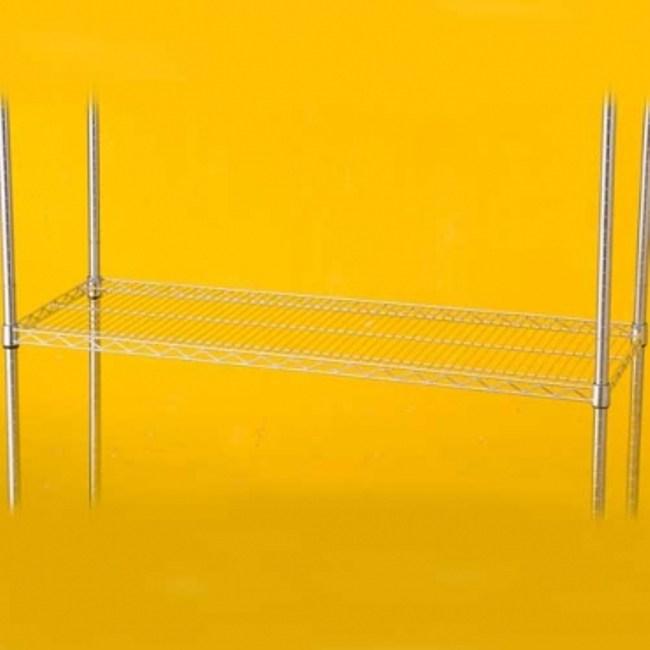特力屋 PRO特選 鍍鉻加強型波浪架鐵網 122x46cm