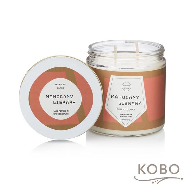 【KOBO】 美國大豆精油蠟燭-桃木燻香-450g/可燃燒65hr