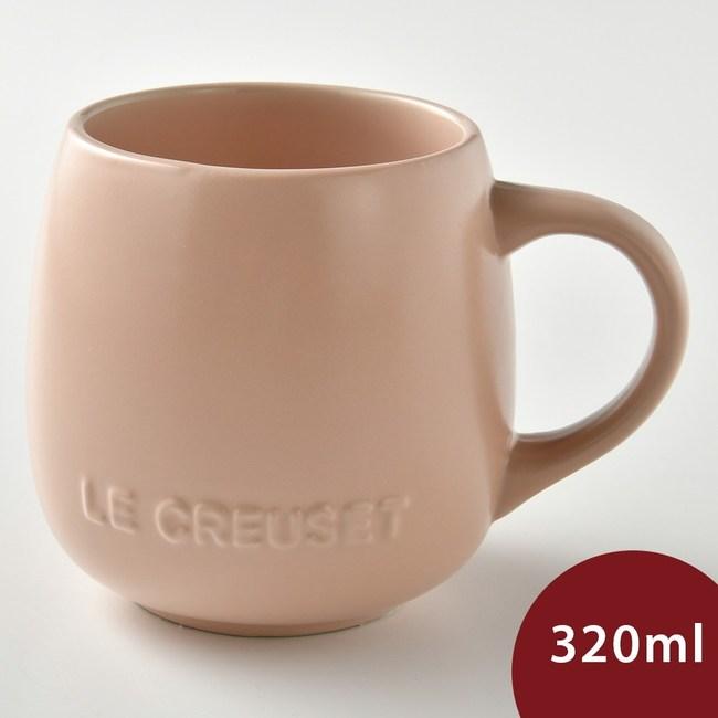 Le Creuset 花蕾系列 馬克杯 320ml 花漾粉