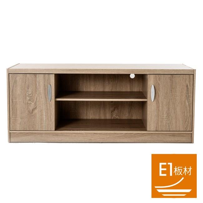 米勒雙門電視櫃 採E1板材