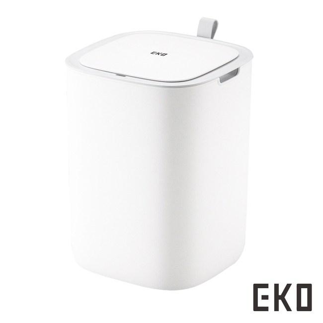 【EKO】智慧型感應垃圾桶超顏值系列-三色啞光白