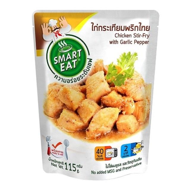 Smart Eat 黑胡椒大蒜打拋雞肉即食包