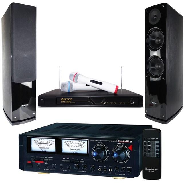 卡拉OK套組 Audioking HD-1000+R-666+A6