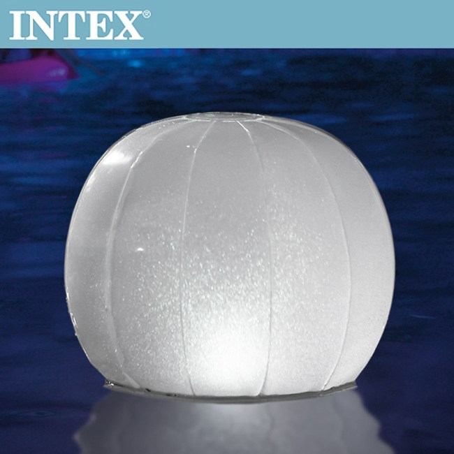 【INTEX】戶外浮動多彩LED裝飾燈球/水上草地皆可(28693)
