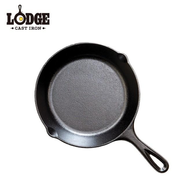 【美國Lodge】鑄鐵平底煎鍋 8吋