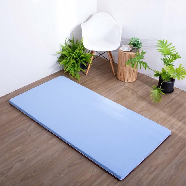 【Hokun】亞藤透氣兩用床墊(單人3x6尺)
