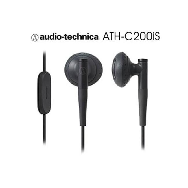 鐵三角 ATH-C200iS 黑色 智慧型手機專用 免持通話黑色