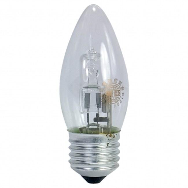 東亞 120V 28W 尖型清光鹵素燈泡