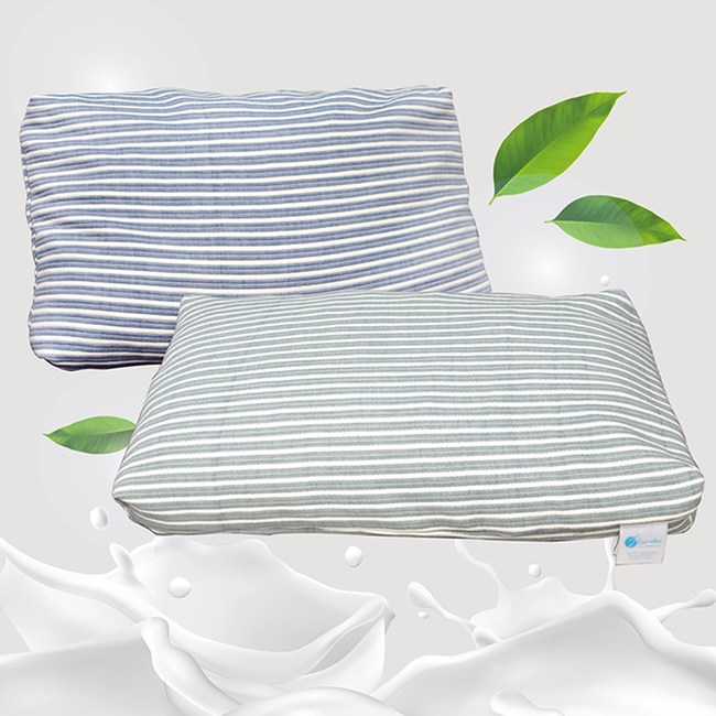 【Indian】純棉可拆式顆粒乳膠枕(1顆)-顏色隨機出貨