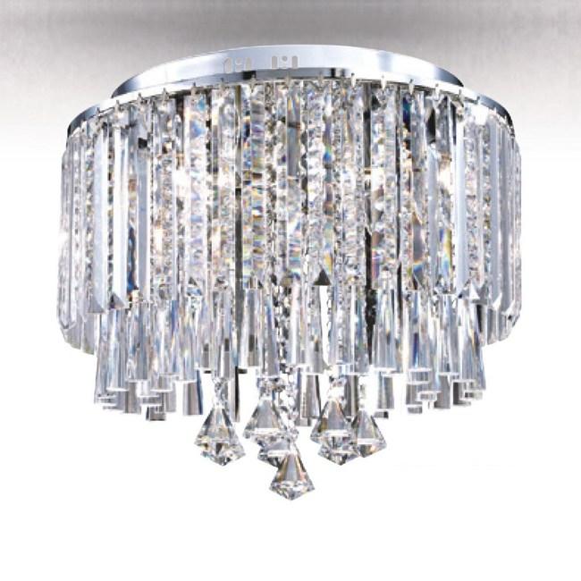 【大巨光】華麗風水晶燈_半吸頂燈-中(LW-09-0535)