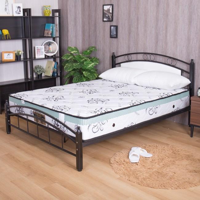 【YFS】瑪莉提白金透氣款-天絲布舒眠透氣硬式雙人5尺獨立筒床墊