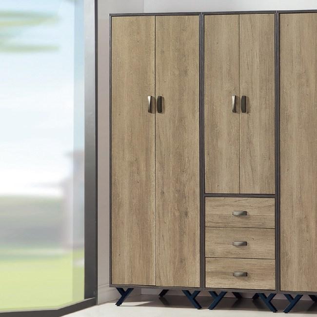 【YFS】莫爾茲2.5尺衣櫃-75x56x192cm