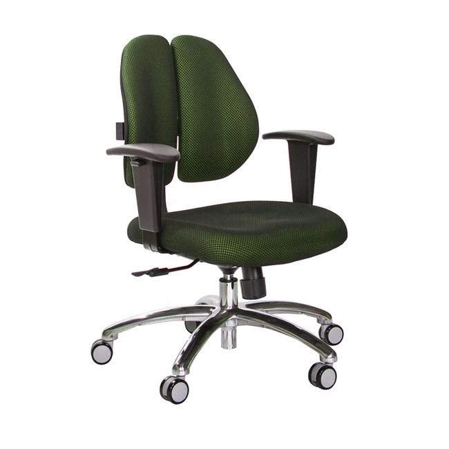 GXG 短背成泡 雙背椅 (鋁腳/升降鋼板扶手)TW-2990 LU8#訂購備註顏色