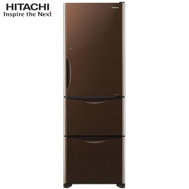 【獨家贈燒烤機】HITACHI 日立 三門冰箱 RG41B 394L琉璃棕