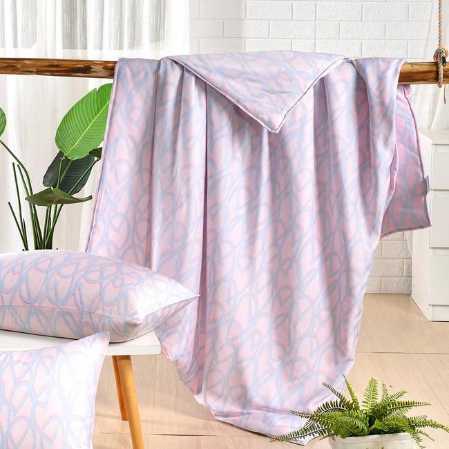 【Betrise雨后】頂級100%奧地利天絲鋪棉涼被5X6.5尺 一入