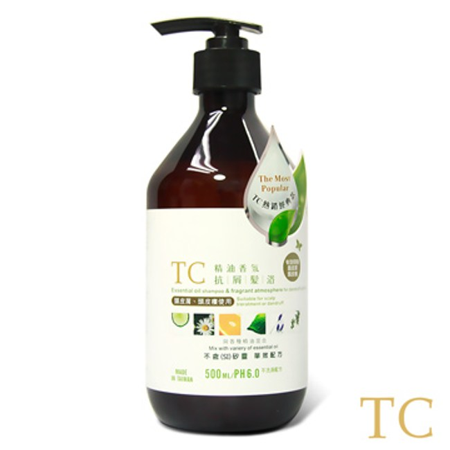 【TC】精油香氛抗屑髮浴(500ml)