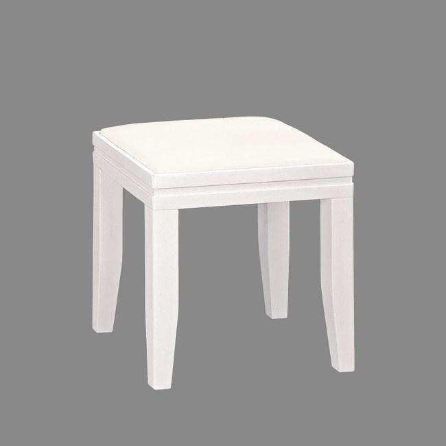 白皮化妝椅