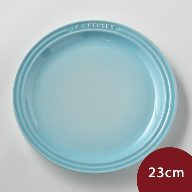 Le Creuset 陶瓷餐盤 23cm 水漾藍