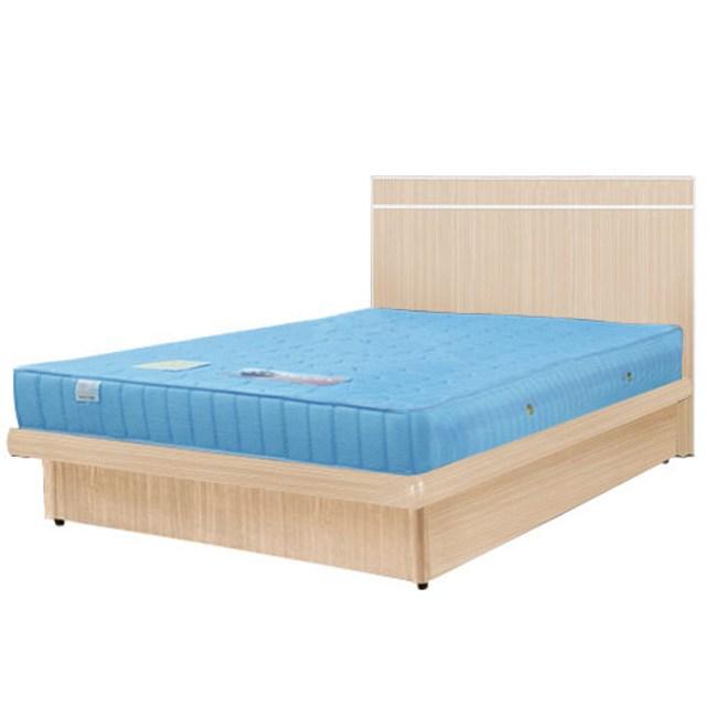 Homelike 麗緻3.5尺掀床組 單人掀床(四色可選)白橡木紋