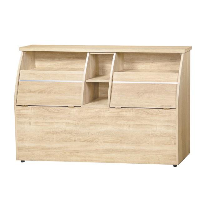 【YFS】藍斯5尺床頭箱-154.5x30x92cm