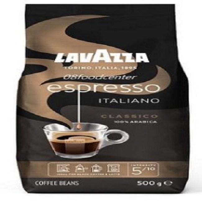 義大利LAVAZZA黑牌ESP.咖啡豆500g