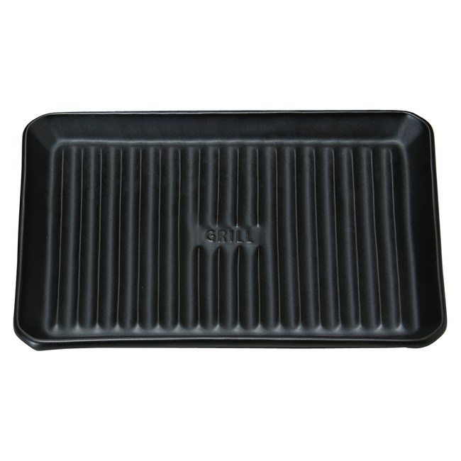 Meister Hand  長型烤盤 19x25.5cm 黑色
