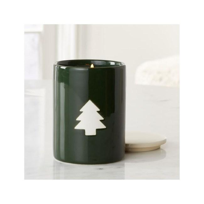 Crate&Barrel Nordic 陶瓷香氛蠟燭