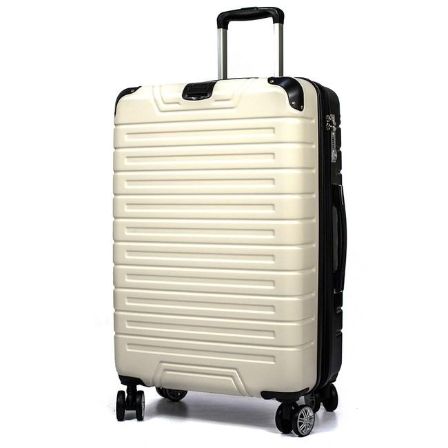 Audi 奧迪 - 25吋 黑白雙色絕配行李箱V5-Z5S-25黑白拉絲