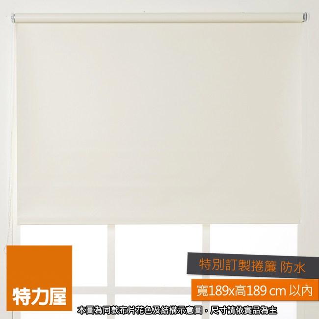 特力屋 特別訂製防水遮光捲簾 寬189x高189cm以內