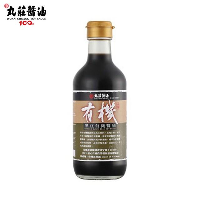 丸莊.黑豆有機醬油清300ml/瓶(共2瓶)