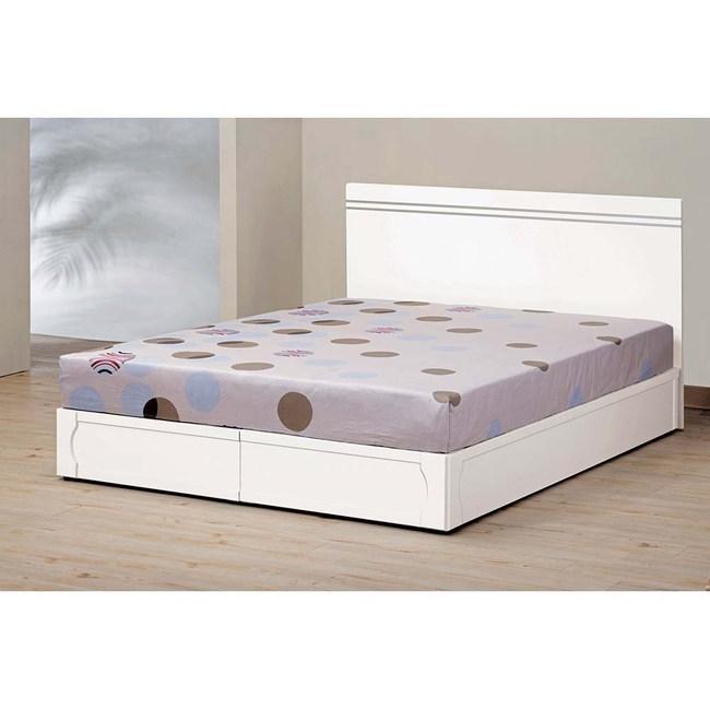 艾麗絲5尺床片型雙人床